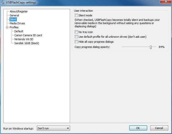 USBFlashCopy Resimler